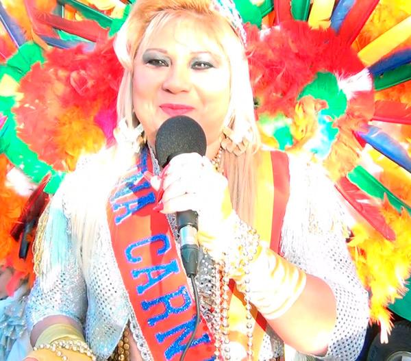 Reportaje a la Reina del carnaval 2016 y a l Rey Momo