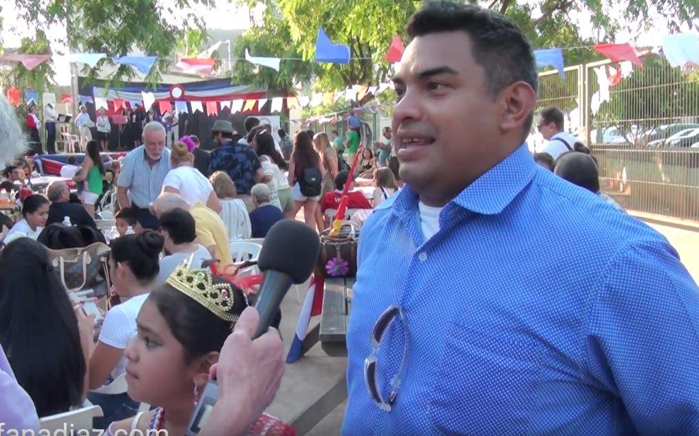 Reportaje Luiz en la Fiestas Patrias 2018 – Chile Valencia te celebra