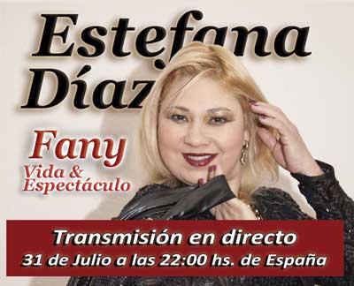 """Transmisión en directo de la gala Aniversario y Lanzamiento de la Revista """"Fany Vida y Espectáculo"""""""