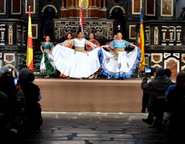 Danza Paraguaya - Arte y Cultura Paraguay, España 2016
