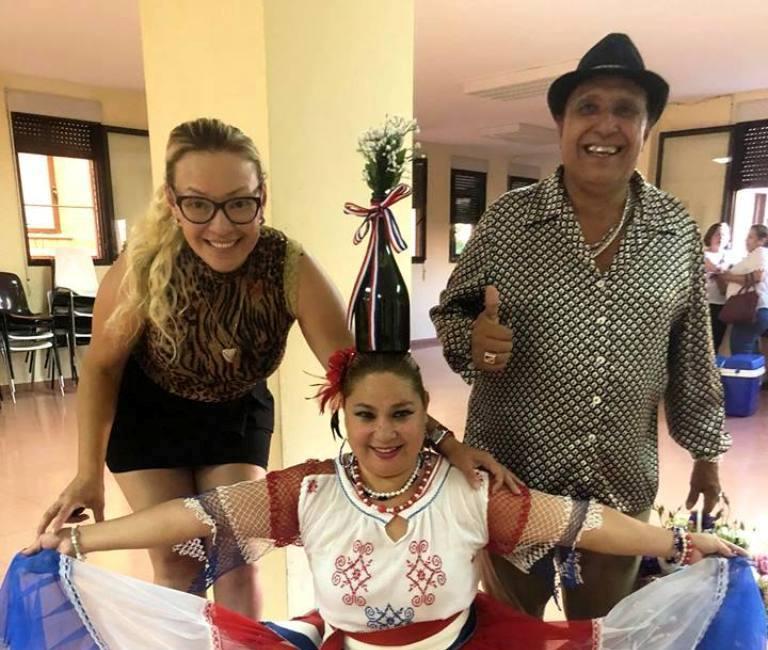Fany en la Celebración del Día de la Amistad y Homenaje a Don Boyito Rojas