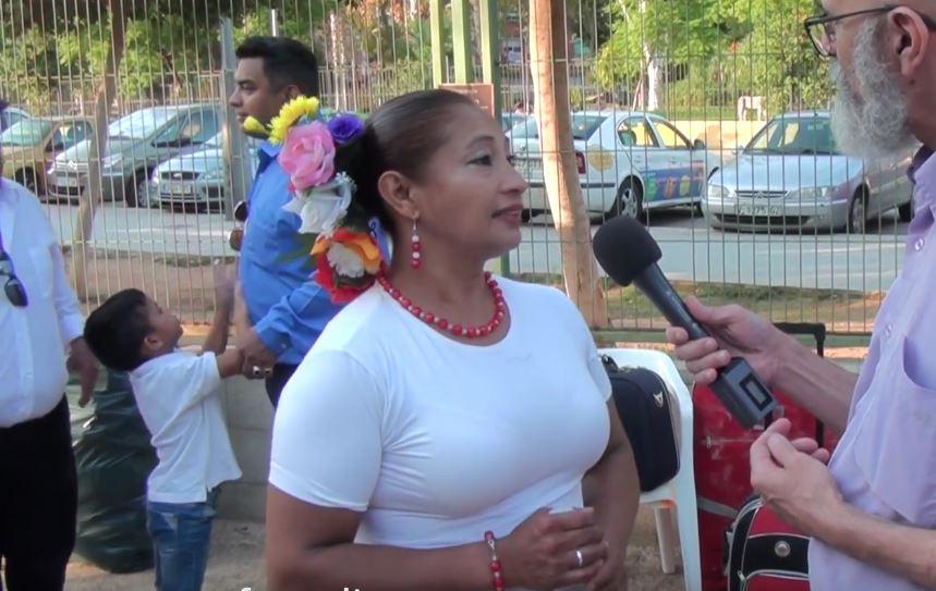 Reportaje Luz Marina en la Fiestas Patrias 2018 – Chile Valencia te celebra