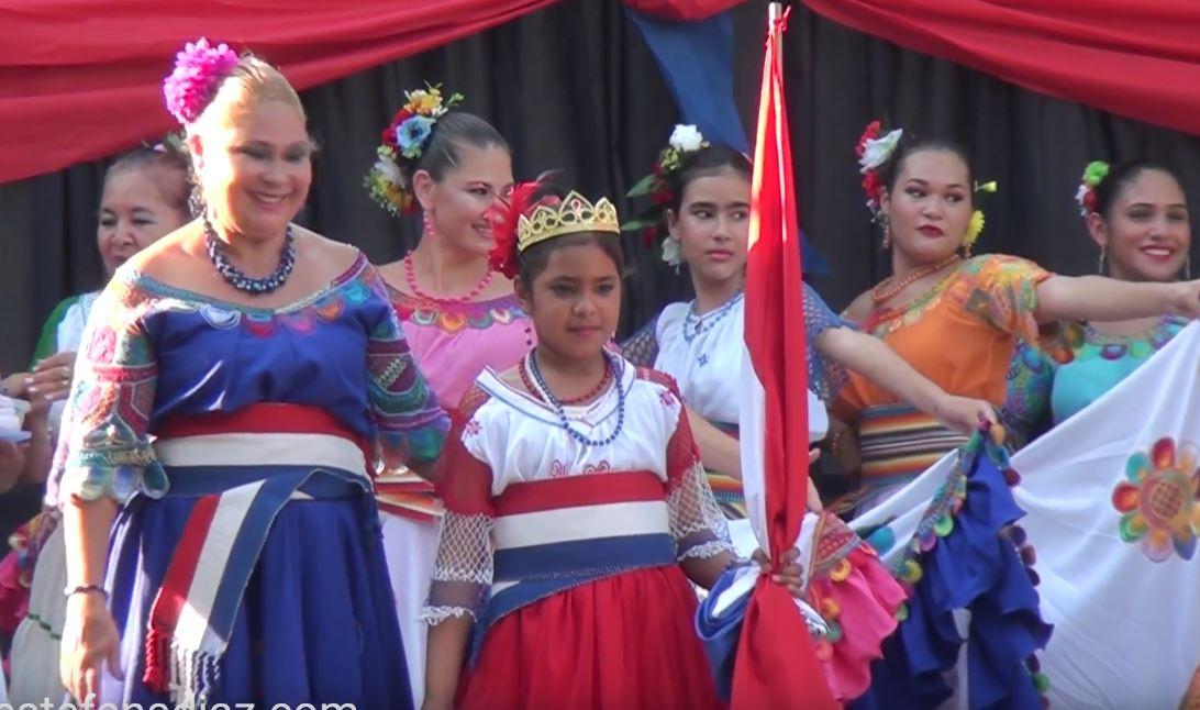 Grupo de Danza Mburukuja en la Fiestas Patrias 2018 – Chile Valencia te celebra