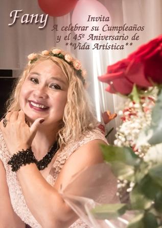 Fiesta de Cumpleaños y Aniversario de Vida Artística